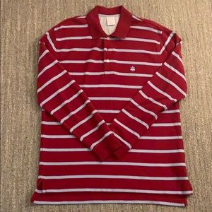 Brooks brother long sleeve polo M